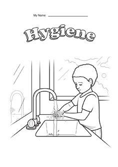 hygiene glyph page 004jpg 1 2401 754 pixels hand washingkids crafts