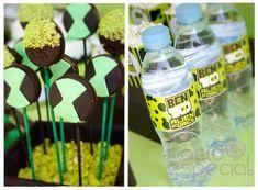 Ben 10 Party via Kara's Party Ideas | KarasPartyIdeas.com #ben #10 #party #ideas (9)