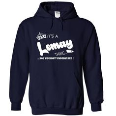 ITS A LEMAY THING YOU WOULD N T UNDERSTAND NAME HOOD I E  HOODIE  This shirt is for you! Tshirt, Women Tee and Hoodie are available. 👕 BUY IT here: https://www.sunfrog.com/Its-a-Lemay-Thing-You-Wouldnt-Understand-Name-Hoodie-t-shirt-hoodies-2407-NavyBlue-31811892-Hoodie.html?id=57545