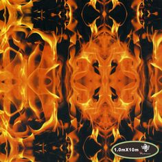 High quality flaming fire water transfer printing film hydrographic film 1503a05266f
