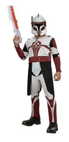 commander fox star wars clone trooper fancy dress up halloween child costume