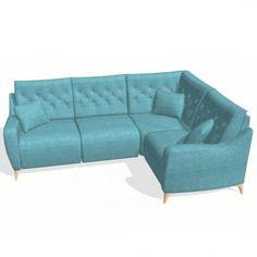 Fama Avalon Medium 2 Seater Corner Right Scatter Cushions, Seat Cushions, Build Your Own Sofa, Corner Sofa Set, Power Recliners, 3 Seater Sofa, Reclining Sofa, Sofa Design, Foot Rest