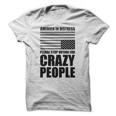 Sanity In Government and Politics - #grey sweatshirt #sweater upcycle. OBTAIN => https://www.sunfrog.com/Political/Sanity-In-Government-Tee-White-21475934-Guys.html?68278