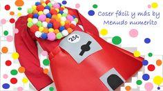 """El blog de """"Coser fácil y más by Menudo numerito"""": Disfraz de máquina de bolas de chicle o """"gumball machine"""""""