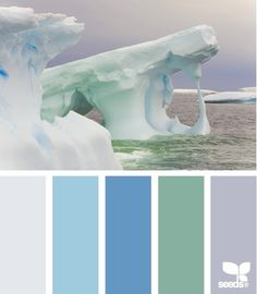 iced tones #Color Palettes