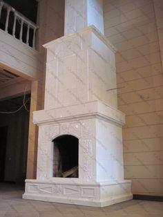 Изразцовый камин / Tiled fireplace