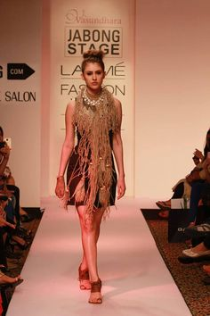 Aprajita Toor - The label featuring at Lakme Fashion Week Summer Resort 2015.