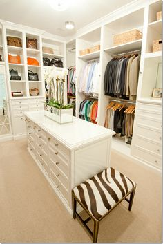 This brings walk-in closet to a new level.                                                                                                                                                      More