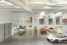 Supercar Workshop by OB Architecture