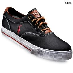 Polo Ralph Lauren Men's Canvas Sneaker $65.00 i so want these for my bday