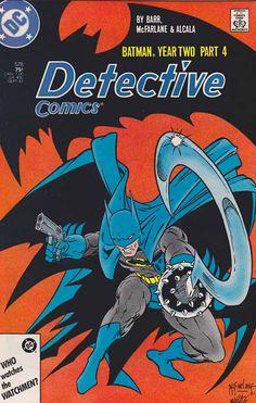 Detective Comics #578. Batman Year Two Pt.4 Todd McFarlane Pencils - Cover Art. So Shall Ye Reap