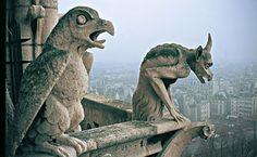 esculturas chartres | Compartiendo las Horas Libres: El Misterio de las Gárgolas