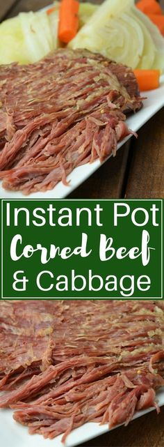 Instant Pot Corned Beef Nourish To Fuel. Instant Pot Corned Beef Dinner With Mustard Sauce 365 . How To Make Instant Pot Corned Beef Went Here 8 This. Instant Pot Pressure Cooker, Pressure Cooker Recipes, Pressure Cooking, Pressure Pot, Power Cooker Recipes, Crockpot Recipes, Cooking Recipes, Healthy Recipes, Budget Cooking