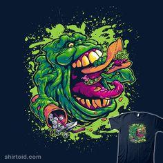 """UGLY LITTLE SPUD"" by BeastPop Slimer of Ghostbusters"
