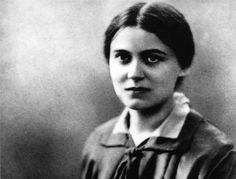 """Lay all your cares about the future trustingly in God's hands, and let yourself be guided by the Lord just like a little child."" - Edith Stein, St Teresa Benedicta of the Cross, Feast Day 9 August. Catholic Saints, Roman Catholic, Santa Laura Montoya, St Edith Stein, Jean Paul Ii, Catholic Quotes, Saint Quotes, Mystique, Spirituality"
