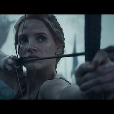#TheHuntsman #WintersWar #MSR  #JessicaChastain as #Sara #Action #adventure #Drama #bow #arrow #fantasy #dwarf #queen #huntsmen #winter #north #April #2016 #movies #moviephoto  @jessicachastaindaily @chastainiac