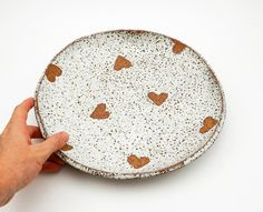 Large Rustic Heart Dish - Serving Platter - SECONDS SALE
