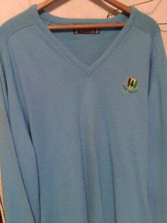 New lower starting bid $59.99.  This is from PINE VALLEY Golf Club in Pine Valley ,NJ  which is near Clementon, NJ in Southern New Jersey (outside Phila.,PA). This is a VERY highly rated exclusive course. Many games left in this sweater!!! Take a look!!!
