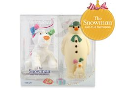 The Snowman and The Snowdog - Soft Toy Gift Set - far too cute so need two of these!  One to show off and one to (maybe) eat!