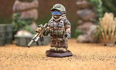 Ghost Recon Future Soldier Geoshift Custom Minifigure