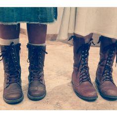 Botas niña chulada #botas chulada niña falda