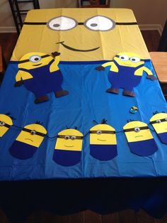 Minion party. Homemade. DIY