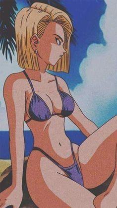Anime Girl Hot, Anime Art Girl, Dragon Ball Gt, Anime Sketch, Animes Wallpapers, Cartoon Art, Animation, Fan Art, Andróide 18