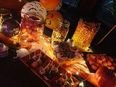 Παιδικό πάρτυ Halloween απο τα ΔΕΛΦΙΝΑΚΙΑ  Light Bulb, Halloween, Party, Decor, Decoration, Light Globes, Parties, Decorating, Spooky Halloween