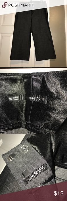 Maurice's dressy capris 5/6-good used condition. No stains. Maurices Pants Capris