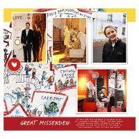 Roald Dahl Museum, Scrap the Lot No.02 photobook templates, Designer Digitals,  travel digital scrapbooking layout, vacation digital scrapbooking  layout