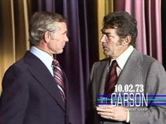 "Dean Martin Surprises Johnny Carson on ""The Tonight Show Starring Johnny Carson"" — 1973"