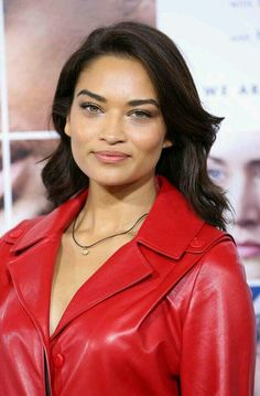 Shanina Shaik Collateral Beauty World Premiere Frederick P. Rose Hall New York 1 Collateral Beauty, Rose Hall, Shanina Shaik, Eye Makeup, Leather Jacket, Skin Care, Celebrities, Model, Hair