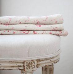 pretty spring linens