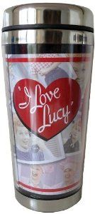 Amazon.com: Westland Giftware 16-Ounce Acrylic and Stainless Steel Travel Mug, I Love Lucy Loving Memories, 7-Inch: Home & Kitchen