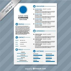 Free Resume Format Downloads Cool 15 Best Free Resume  Cv Templates Psdprofessionally .
