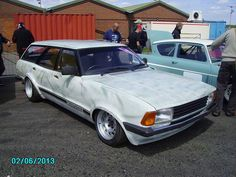 Ford Cortina Mark 4/5 Slammed Estate