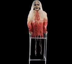 limbless Libby Animated Halloween Prop | Haunted House Decoration