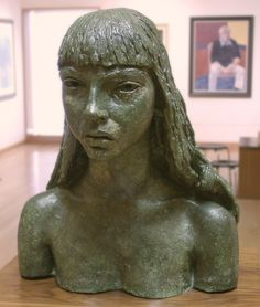 Jacob Epstein Abstract Words, Galleries In London, Barbara Hepworth, Modern Sculpture, Art Gallery, Statue, Long Hair Styles, Dolls, Photography
