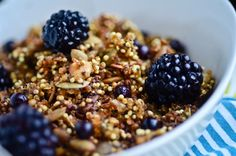 blissful eats with tina jeffers: Crunchy pumpkin quinoa cereal - Bliss