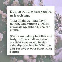 Duas Hadith Quotes, Allah Quotes, Muslim Quotes, Religious Quotes, Quran Quotes Inspirational, Islamic Love Quotes, Motivational Quotes, Islamic Phrases, Islamic Messages