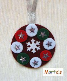 felt Christmas ornament  (with Daliborka S)