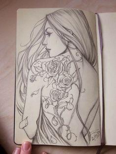Tattoo Idea Moleskine By Sabinerich On De
