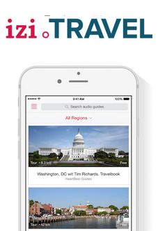 izi.TRAVEL is een gratis platform en smartphone applicatie voor het maken en verspreiden van multimediale gidsen voor stadswandelingen of musea. Recent nog is een nieuwe versie in omloop die het mogelijk maakt om een quest of zoektocht aan te bieden.