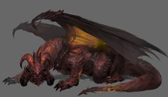 Dragon Draft by jong Hyun Lee on ArtStation. Cool Monsters, Dnd Monsters, Fantasy Monster, Monster Art, Fantasy Creatures, Mythical Creatures, Legendary Dragons, Cool Dragons, Fantasy Beasts