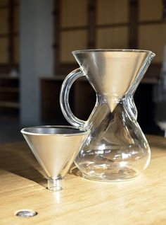 Able One-Cup (with Glass Funnel) & KONE in Chemex