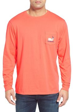 e4d979fba30 Vineyard Vines  Whale Hot Sauce  Long Sleeve Pocket T-Shirt Vineyard Vines  Whale
