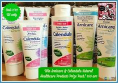 Arnicare & Calendula Natural Healthcare Products #Giveaway #BeautyBash2015 - ends 2/22 US Only - Southern Krazed