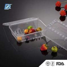 We have manufactured this clear plastic containers with lids for food to provide…