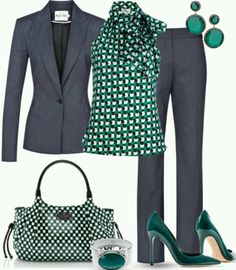 A fashion look from January 2013 featuring Milly blouses, Reiss blazers and Reiss pants. Browse and shop related looks. Mode Outfits, Office Outfits, Casual Outfits, Fashion Outfits, Office Wear, Office Attire, Dress Outfits, Fashion Heels, Office Uniform