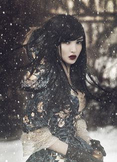 All I can say is that this reminds me of a snow princess warrior, This is really cool :D